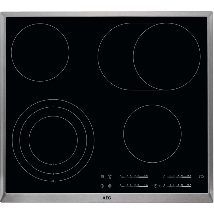 Deska varná sklokeramická AEG HK654070XB