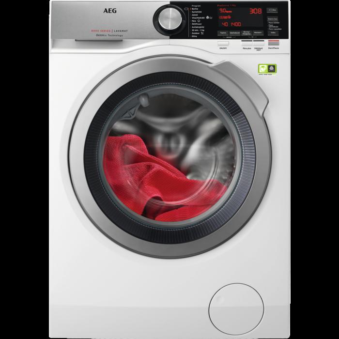 Pračka s předním plněním AEG L8FEC49SC + ZDARMA doživotní záruka na ÖKOInvertor motor + ZDARMA 5 let záruka na celý spotřebič