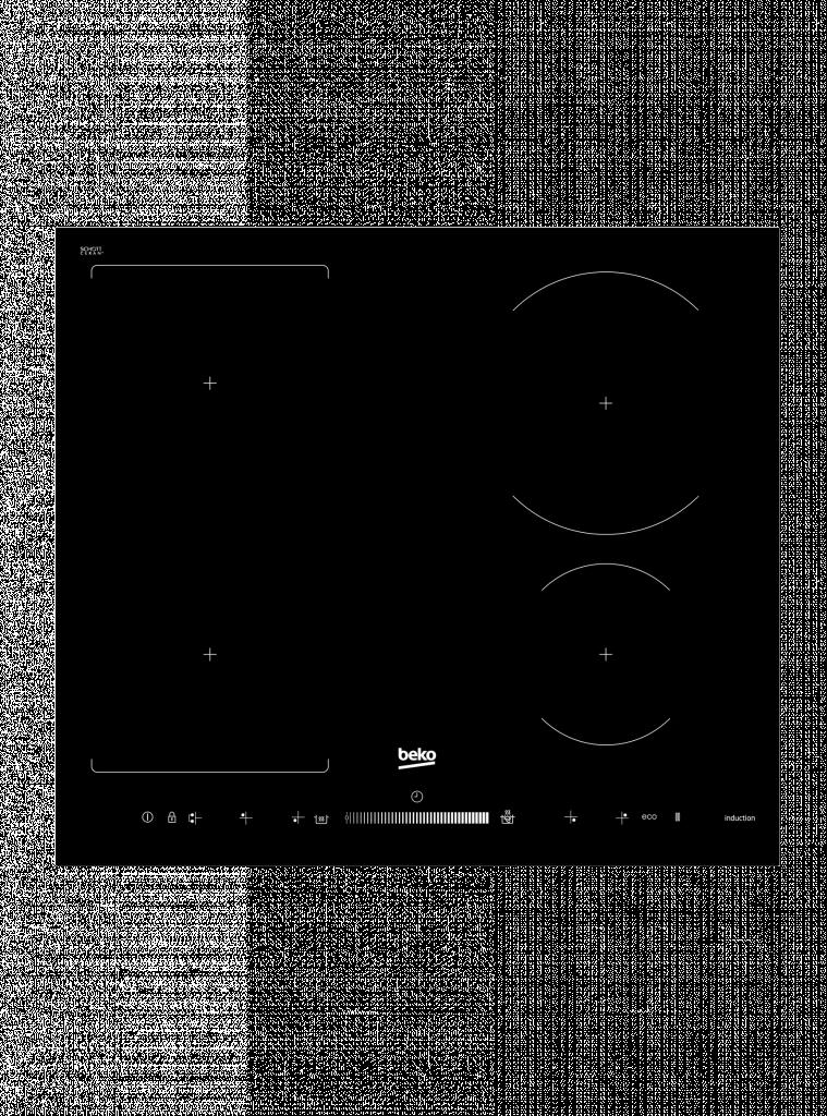 Deska varná indukční BEKO HII 64500 FHT + + ZDARMA 5 let záruka na celý spotřebič